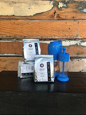 4KG Café Especial - GANHE uma cafeteira pressca E um espumador de leite pressca
