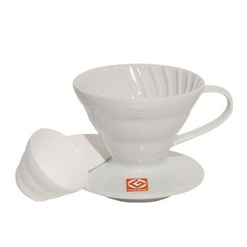 Suporte para Fitro de Café Hário V-60 Branco
