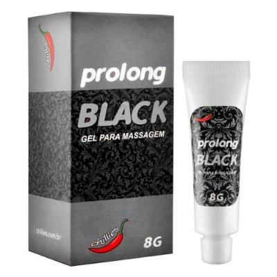 RETARDANTE MASCULINO PROLONG BLACK 8 GR CHILLIES