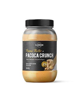 Pasta de Amendoim com Whey sabor creme de Paçoca, Zero açucar, 500g