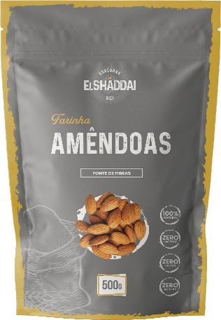 Farinha de Amêndoa - 500g - PREÇO PROMOCIONAL DE BLACK FRIDAY