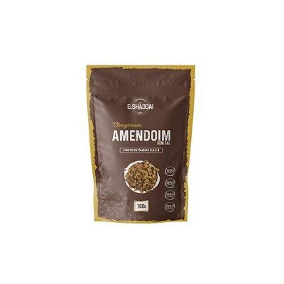 Amendoim torrado sem sal 100G El Shaddai Gourmet - PREÇO PROMOCIONAL