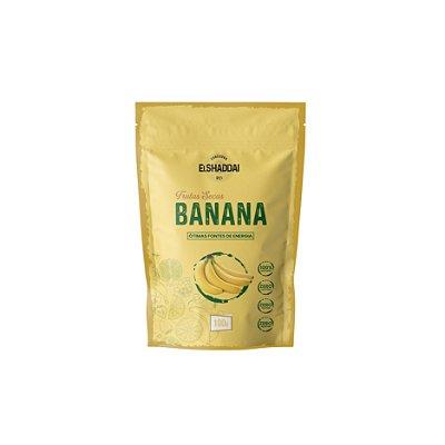 Banana desidratada - 100g -PREÇO PROMOCIONAL BLACK FRIDAY