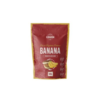 Pão de frigideira Low Carb banana - 500g -PREÇO PROMOCIONAL BLACK FRIDAY