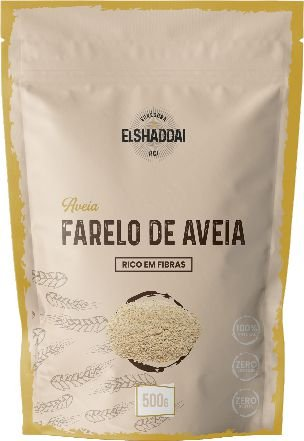 FARELO DE AVEIA - 500G -PREÇO PROMOCIONAL BLACK FRIDAY