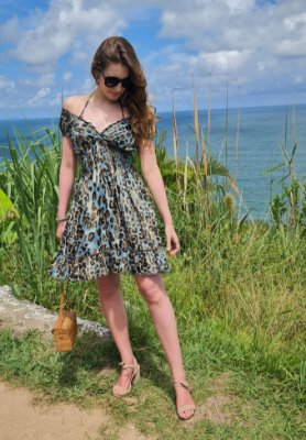 Vestido Iris Curto