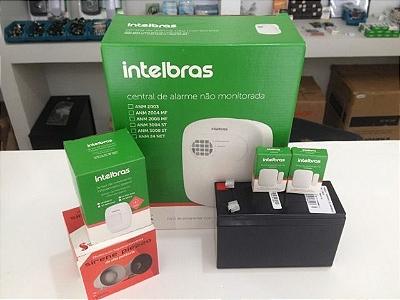 Kit Alarme Intelbras Completo