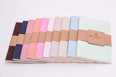 Caderneta Capa Flexível