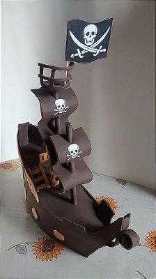 Navio Pirata Em EVA