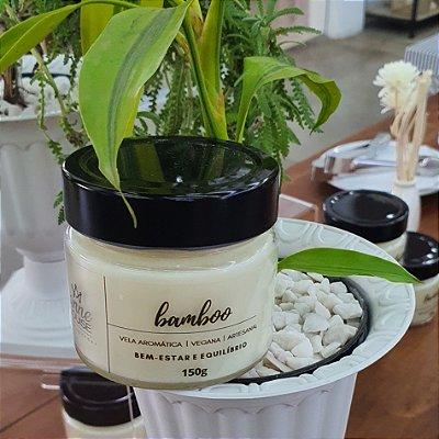 Vela Aromática 150 g - Bamboo - Coleção Botanicals