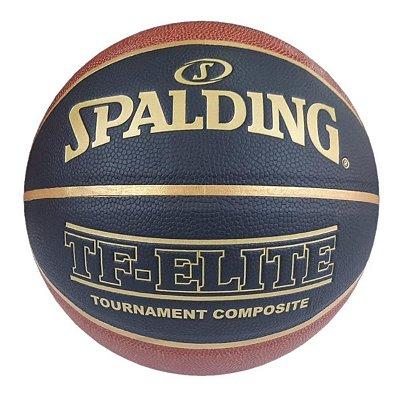 Bola De Basquete Spalding TF-Elite CBB - Microfibra - Indoor / Outdoor
