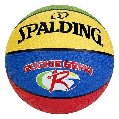 Bola De Basquete Spalding Oficial JR. NBA /Rookie Gear - Borracha - TAM. 5