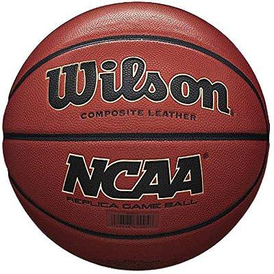 Bola De Basquete Wilson NCAA Replica - Borracha - Indoor / Outdoor