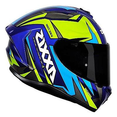 Capacete Axxis Vector Gloss - Azul