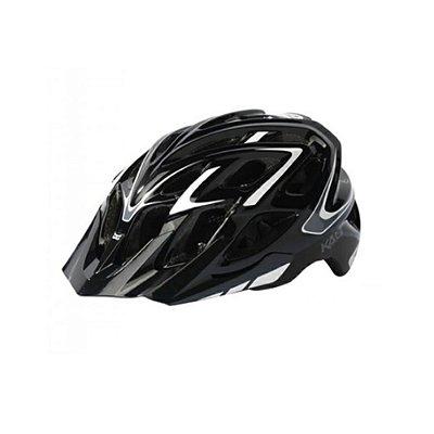 Capacete Bike Kali Chakra Plus Wisdom - Preto - P/M (54-58cm)