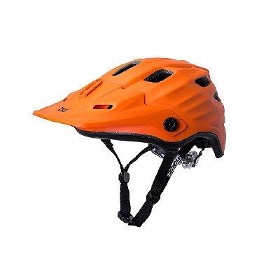 Capacete Bike Kali Maya Solid (60-63cm) - Laranja Fosco