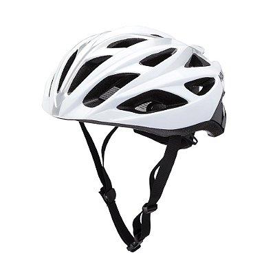 Capacete Ciclismo Bike Kali Ropa Draft (52-58cm) - Preto/Branco