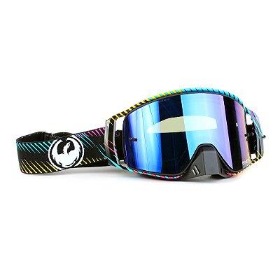 Óculos Dragon NFX2 Blur - Lente Azul Espelhada + Tear Off Pack + Lens Shield
