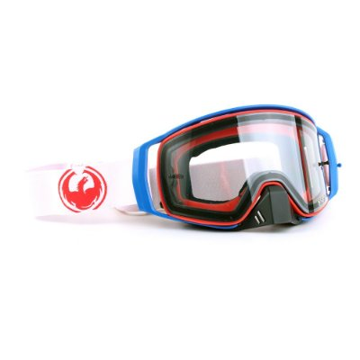 Óculos Dragon NFX2 Crimson - Lente Transparente + Tear Off Pack + Lens Shield