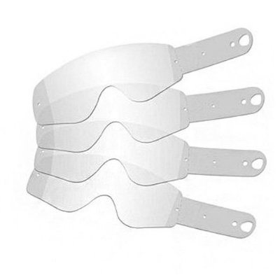 Laminas De Tear-Off Óculos Dragon NFX - Biodegradáveis - 25 Unidades