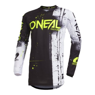 Camisa ONEAL Element Shred - Preta