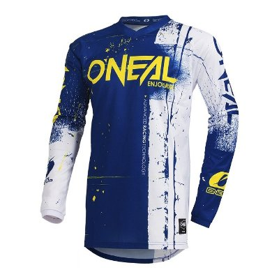 Camisa ONEAL Element Shred - Azul