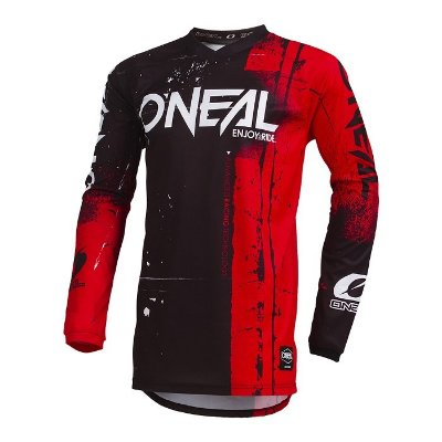 Camisa ONEAL Element Shred - Vermelha