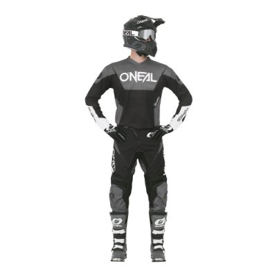 Calça + Camisa ONEAL Element Racewear - Preta