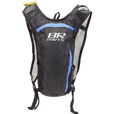 Mochila De Hidratação BR Parts Combat 2 Litros - Azul