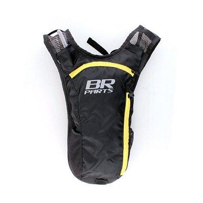 Mochila De Hidratação BR Parts Combat 2 Litros - Amarela