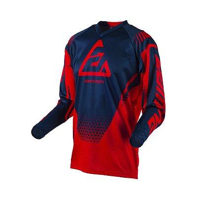 Camisa Answer Syncron Drift Bright - Vermelho