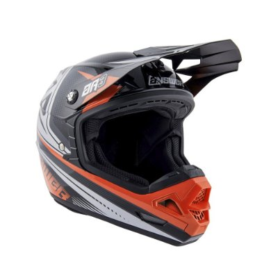 Capacete Answer AR3 Charge - Laranja/Cinza