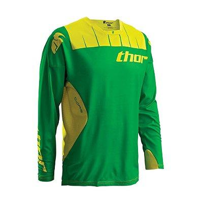 Camisa Thor Core Contro - Verde/Amarela