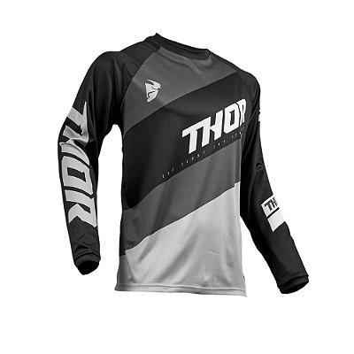 Camisa Thor Sector Shear - Preto/Cinza