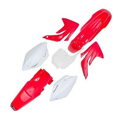 Kit Plástico Ufo CR 150 07/14 - Original (Com Number Frontal)