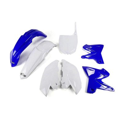 Kit Plástico Ufo Yamaha Reestilização YZ 125 02/14 + YZ 250 02/14 - Original (Com Number Frontal)