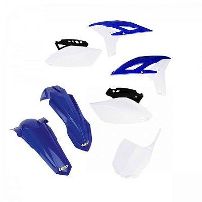 Kit Plástico Ufo YZF 250 10/13 - Cor Original Ano 2011/2012 (Com Number Frontal)