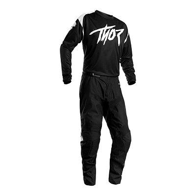 Calça + Camisa Thor Sector Link - Preta