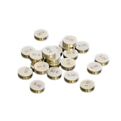 Pastilha De Válvula ProX 450CC - 9.48 X 3.20MM - Pacote c/ 5 peças