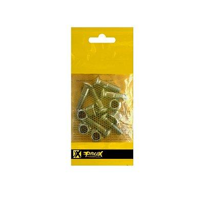 Parafuso Coroa - ProX - Kit Com 6 Peças. M8x25