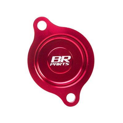 Tampa do Filtro de Óleo BR Parts CRF 450 R/X 02/08 - Vermelho