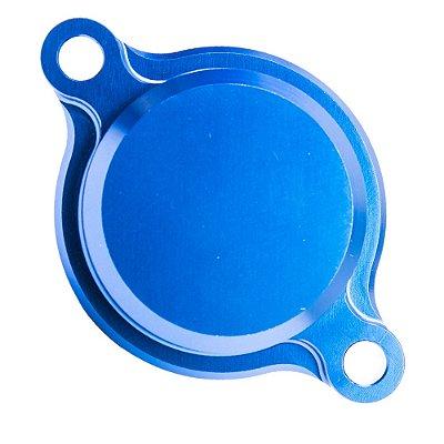 Tampa do Filtro de Óleo BR Parts YZF 450 10/14 - Azul