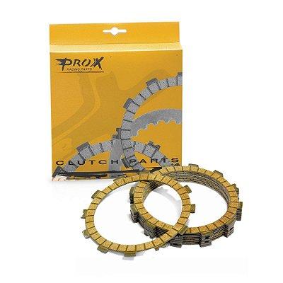 Kit Discos de Embreagem Prox CRF 250 04/07 + 10 + KTM 250 SX-F 06/12 + 250 EXC-F 07/13 + HUSABERG FE 250 13