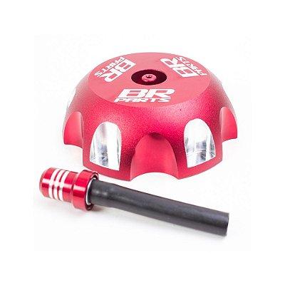 Tampa de Tanque BR Parts CRF 250/450 + XR 200/250 02/14 - Vermelho