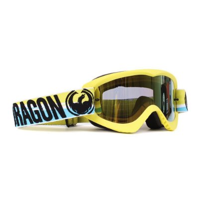 Óculos Dragon MDX Bolt High Vis (Lente Gold Ion + Lente Transparente)