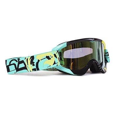 Óculos Dragon MDX Cast (Lente Dourada Fumê + Lente Transparente Bônus)