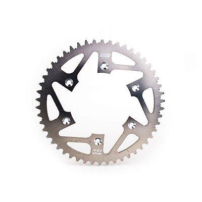 Coroa BR Parts Alumínio KX 125/250/250F/450F 87/15 - 520X48D - Prata