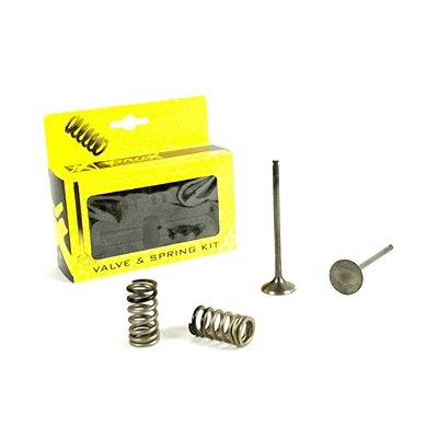Válvula de Escape e Molas ProX YZF 250 01/13 + WRF 250 01/13 + GAS GAS ECF 250 10/15 (Kit 2 Peças)