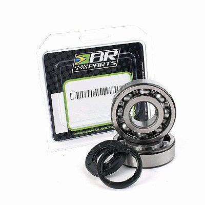 Rolamento + Retentor De Virabrequim BR Parts KXF 250 04/18 + RMZ 250 04/06
