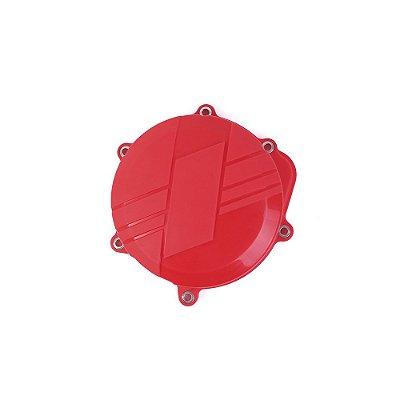 Protetor da Tampa de Embreagem BR Parts CRF 250 10/17 - Vermelha